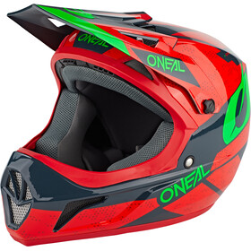 O'Neal Sonus Helm Deft, red/gray/green
